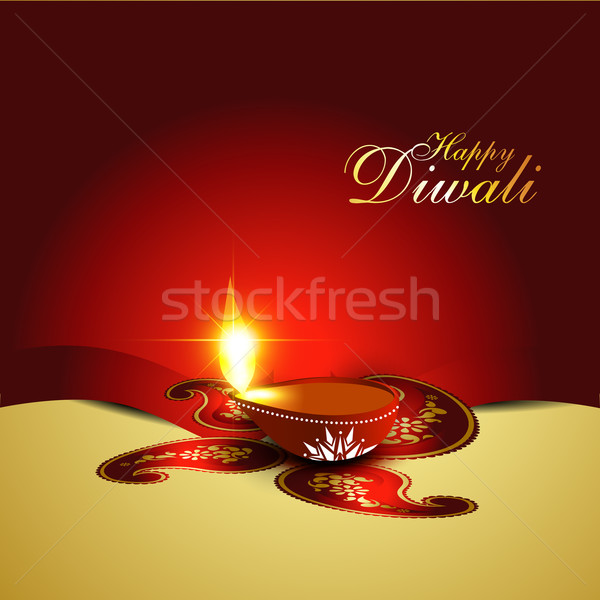 Stock photo: diwali background