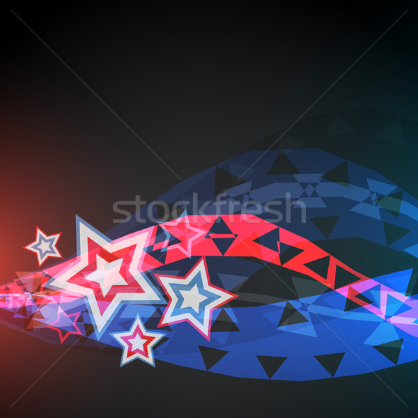 abstract vector 4th of july Stock photo © Pinnacleanimates