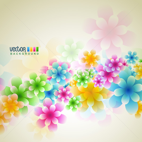 flower vector Stock photo © Pinnacleanimates