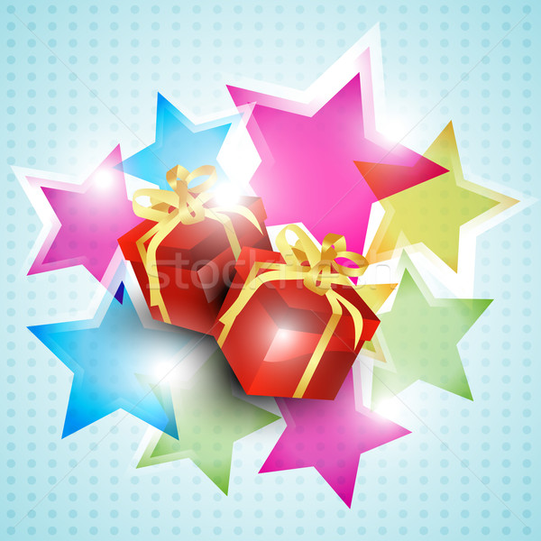 vector gift box Stock photo © Pinnacleanimates