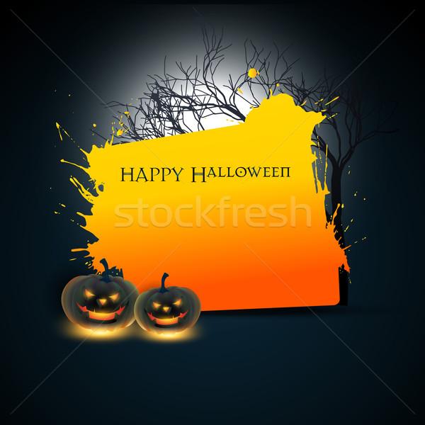 Wektora halloween przestrzeni streszczenie projektu sztuki Zdjęcia stock © Pinnacleanimates