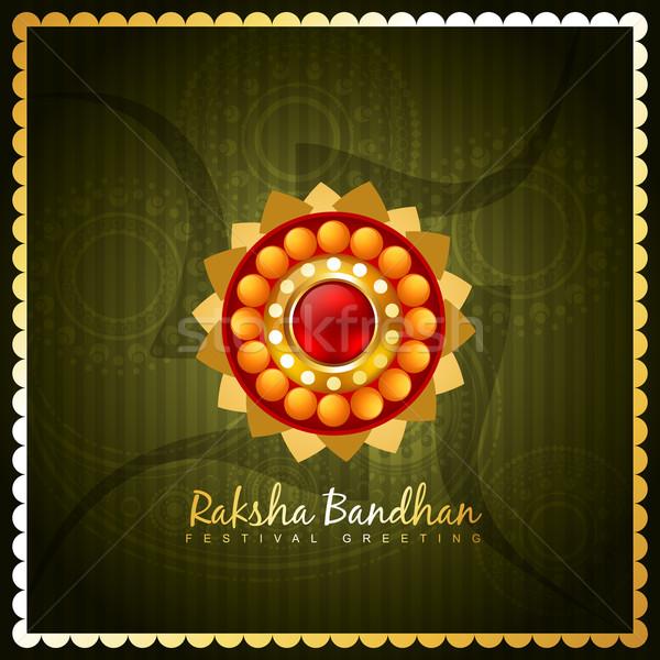 hindu rakshabandhan festival Stock photo © Pinnacleanimates