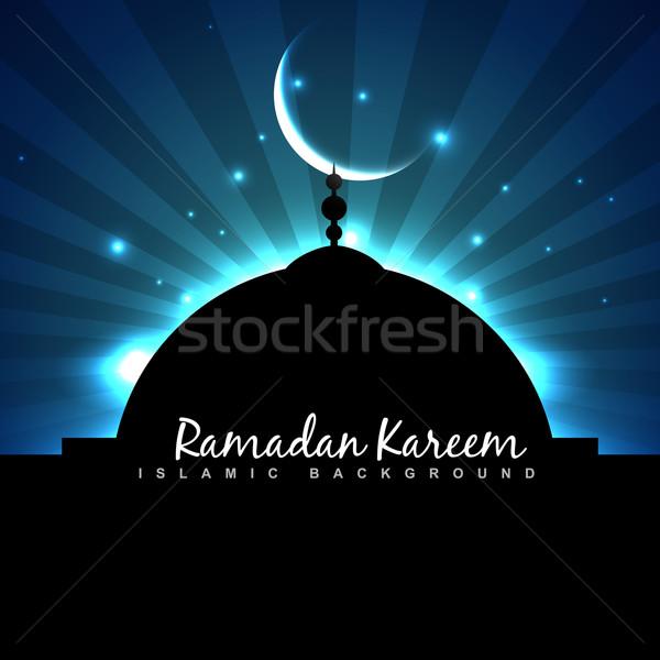 Ramadan hemel abstract achtergrond star Stockfoto © Pinnacleanimates