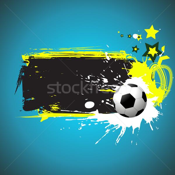 football vector art Stock photo © Pinnacleanimates