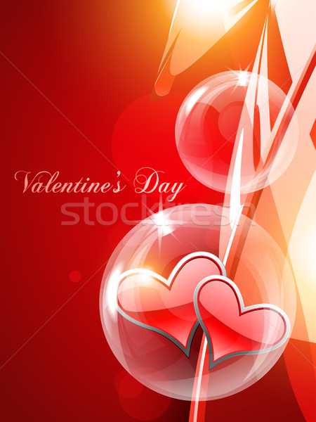 vector heart background Stock photo © Pinnacleanimates