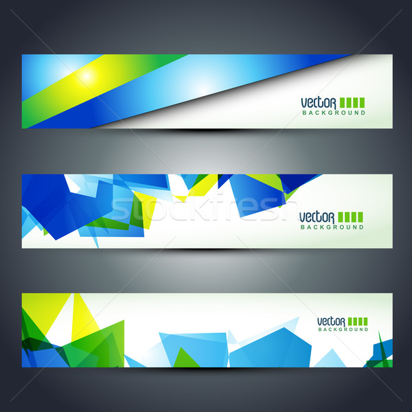 vector header Stock photo © Pinnacleanimates