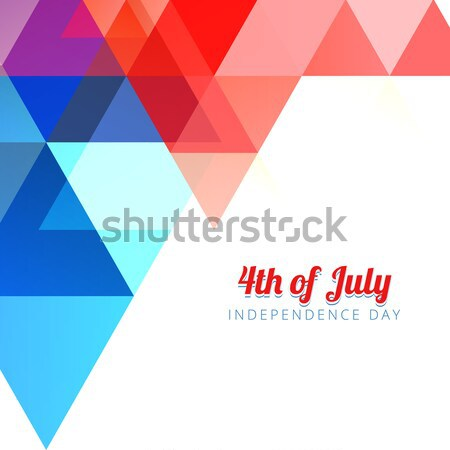 abstract american independence day Stock photo © Pinnacleanimates