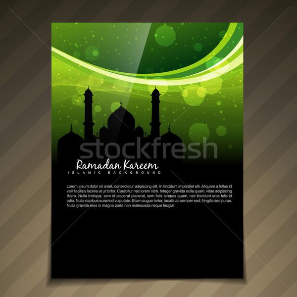 islamic festival background Stock photo © Pinnacleanimates