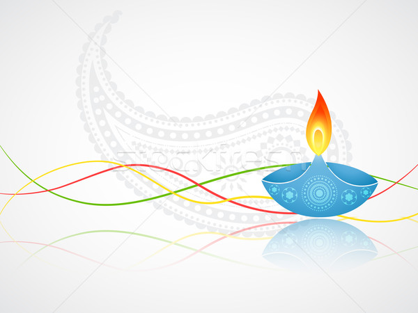 Stock photo: diwali greeting