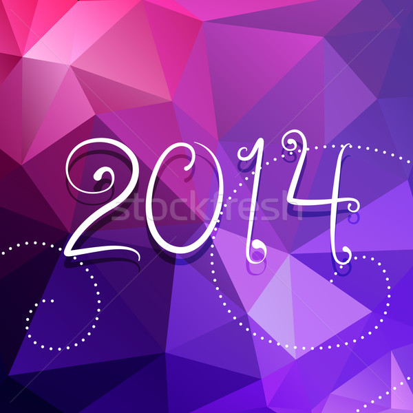 colorful abstract new year design Stock photo © Pinnacleanimates
