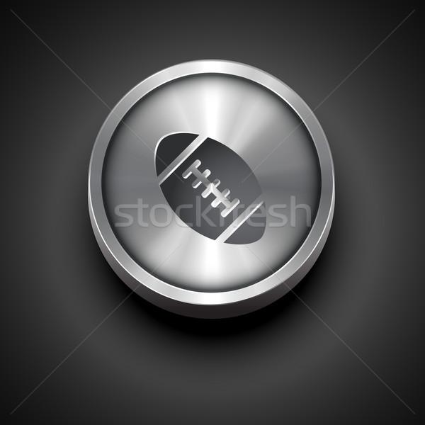 sport metallic icon Stock photo © Pinnacleanimates