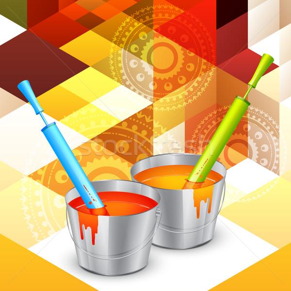 colorful holi colors Stock photo © Pinnacleanimates