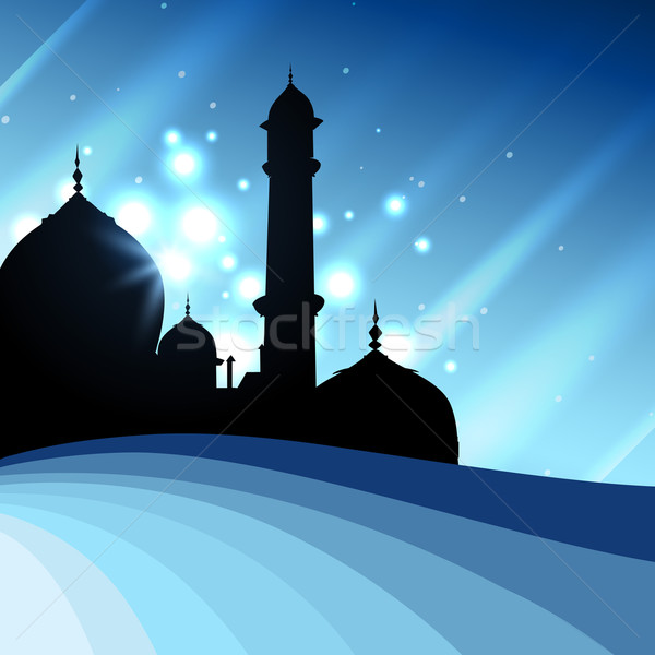 islamic mosque illustration Stock photo © Pinnacleanimates