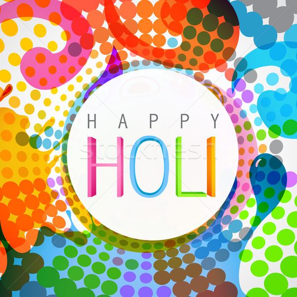 indian festival holi Stock photo © Pinnacleanimates