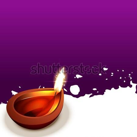 traditional diwali design Stock photo © Pinnacleanimates