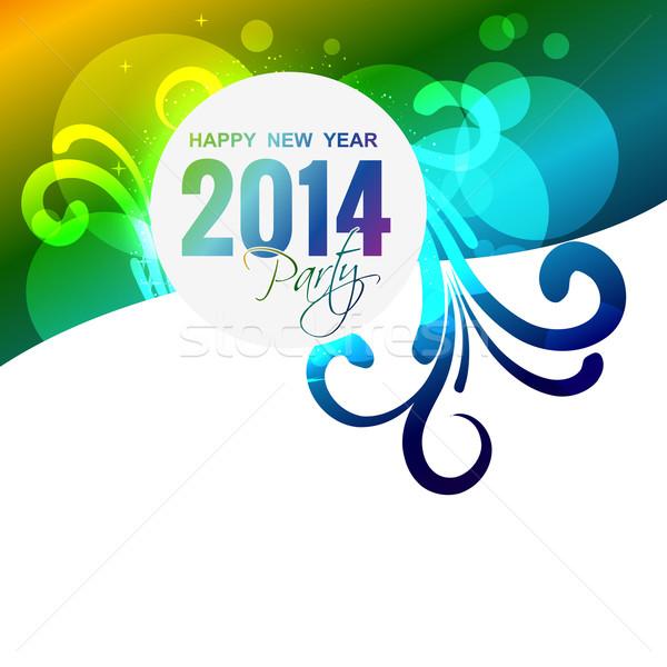 new year celebration Stock photo © Pinnacleanimates