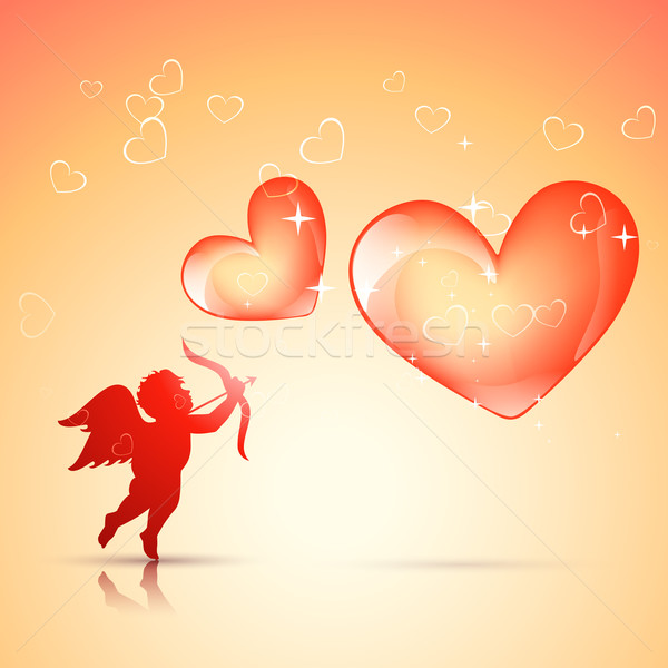 valentine day background Stock photo © Pinnacleanimates