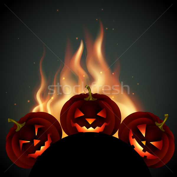 halloween pumpkin Stock photo © Pinnacleanimates