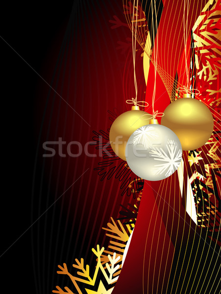 Christmas beautiful artistic background Stock photo © Pinnacleanimates