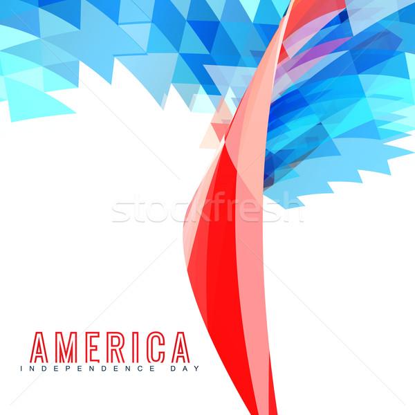 Foto stock: Elegante · americano · dia · projeto · arte · abstrato