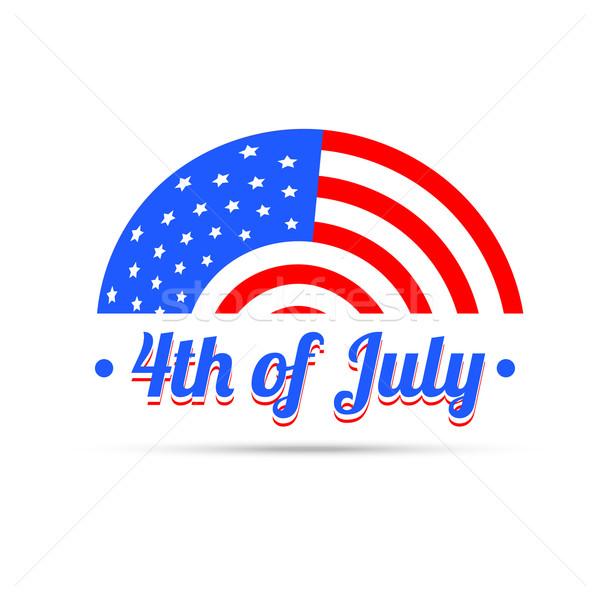4th of july independenece Stock photo © Pinnacleanimates