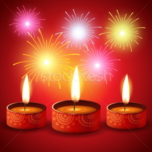 diwali festival background Stock photo © Pinnacleanimates