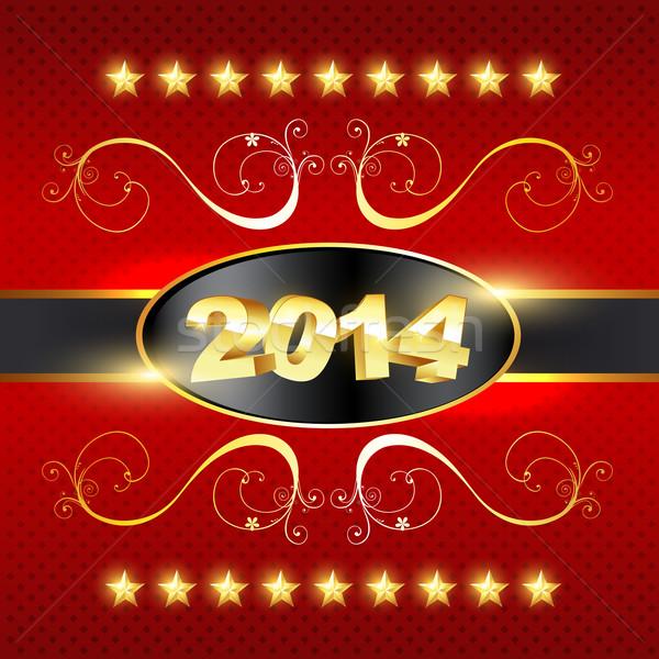 golden style new year Stock photo © Pinnacleanimates