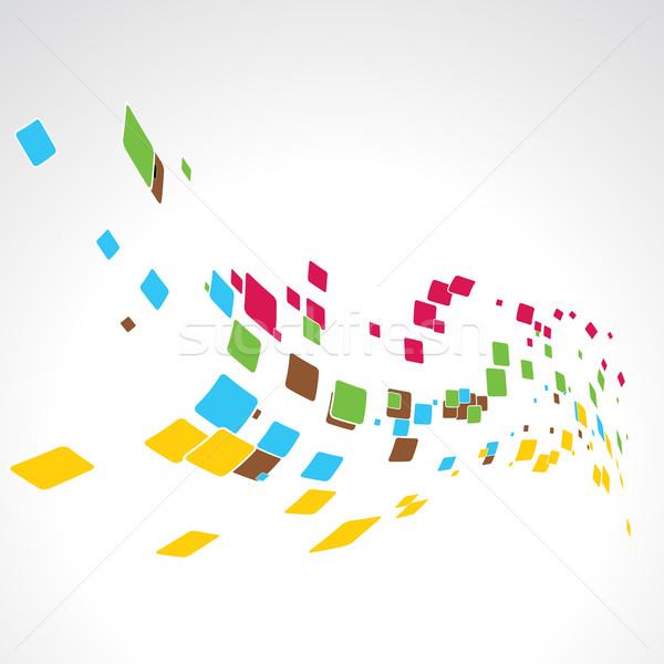 vector mosaic Stock photo © Pinnacleanimates