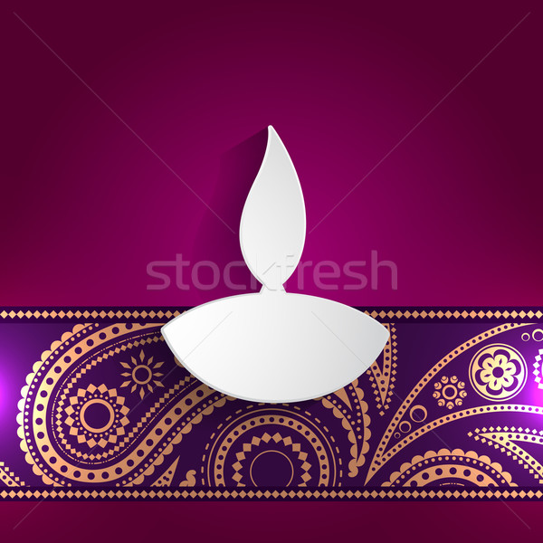 diwali style design Stock photo © Pinnacleanimates