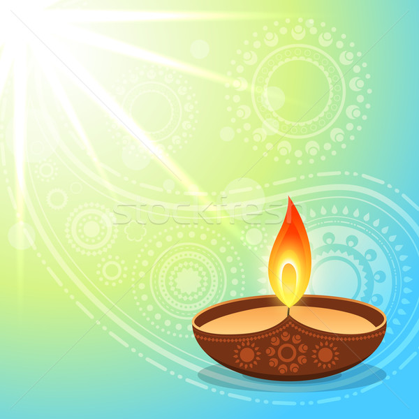 hindu diwali festival Stock photo © Pinnacleanimates