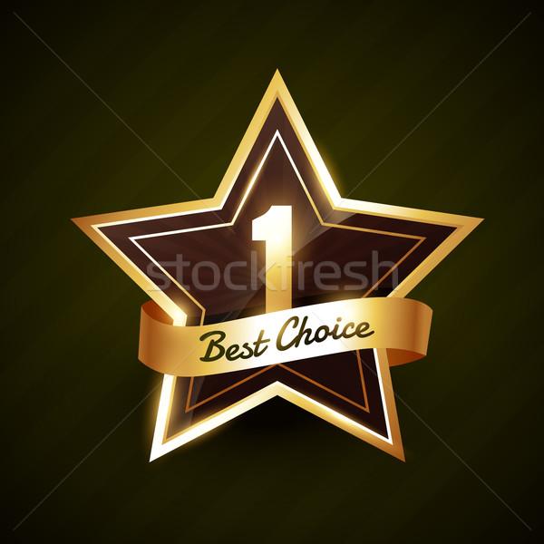 第一 最佳選擇 標籤 向量 設計 商業照片 © Pinnacleanimates