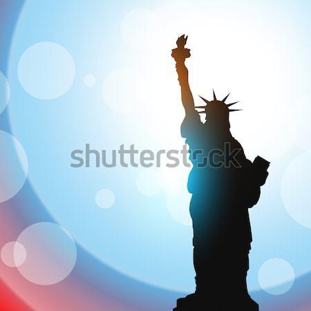 statue of liberty Stock photo © Pinnacleanimates