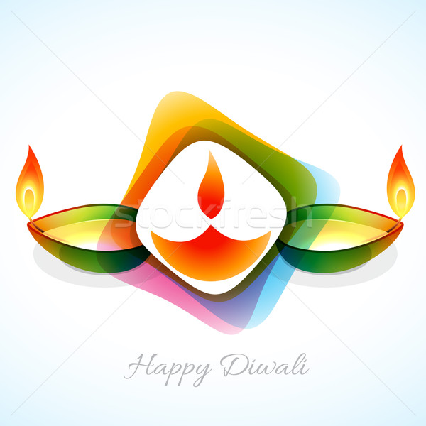 atttractive diwali background Stock photo © Pinnacleanimates