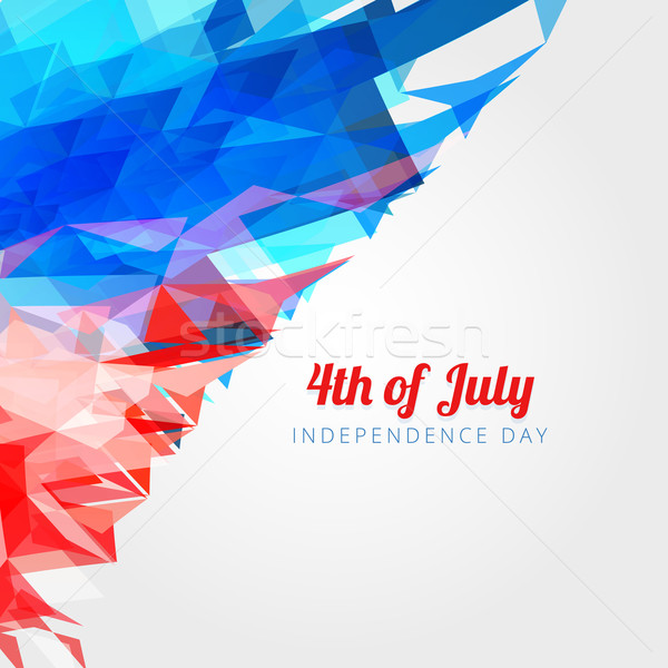 american 4th of july background Stock photo © Pinnacleanimates