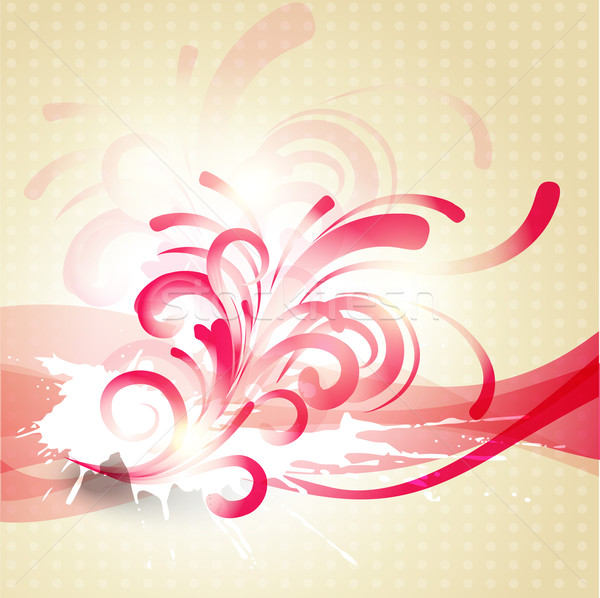 abstract floral artwork Stock photo © Pinnacleanimates
