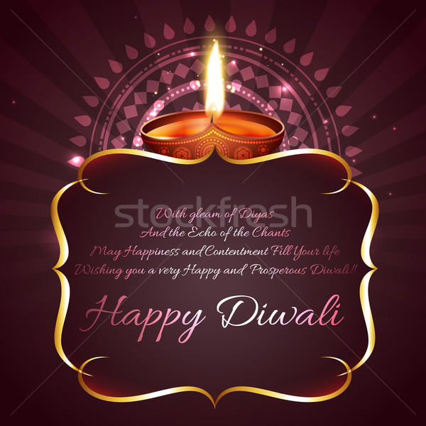 Diwali background with space for your text  Stock photo © Pinnacleanimates