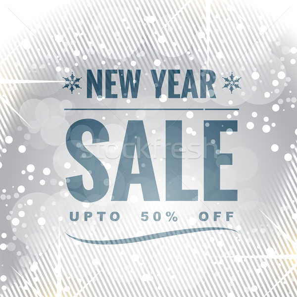 new year sale Stock photo © Pinnacleanimates