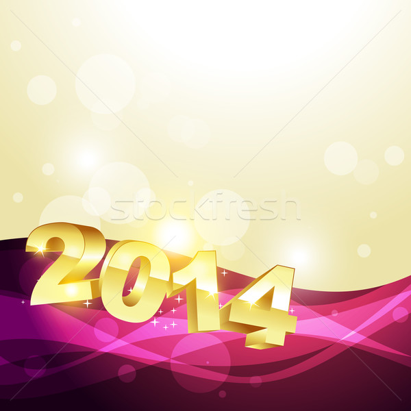 happy new year design Stock photo © Pinnacleanimates