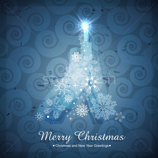 creative christmas tree Stock photo © Pinnacleanimates