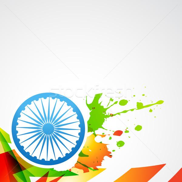 flag of india Stock photo © Pinnacleanimates