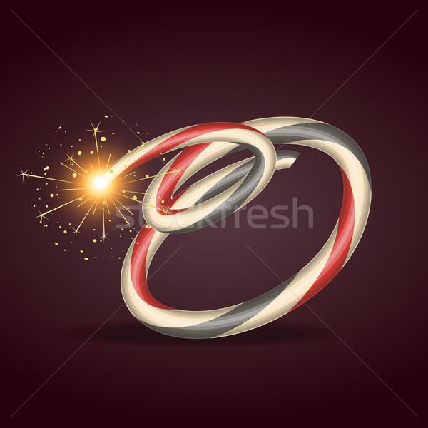 Diwali ardor vector feliz wallpaper oración Foto stock © Pinnacleanimates