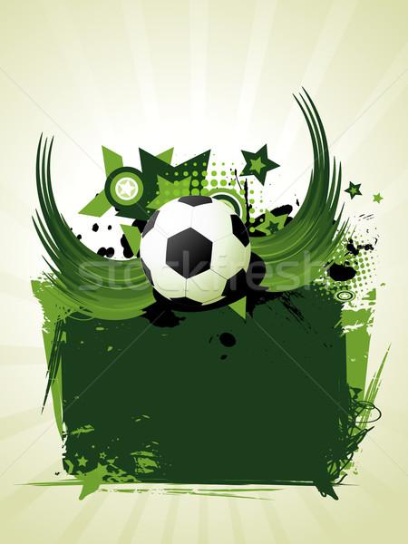 Football vector design Stock photo © Pinnacleanimates