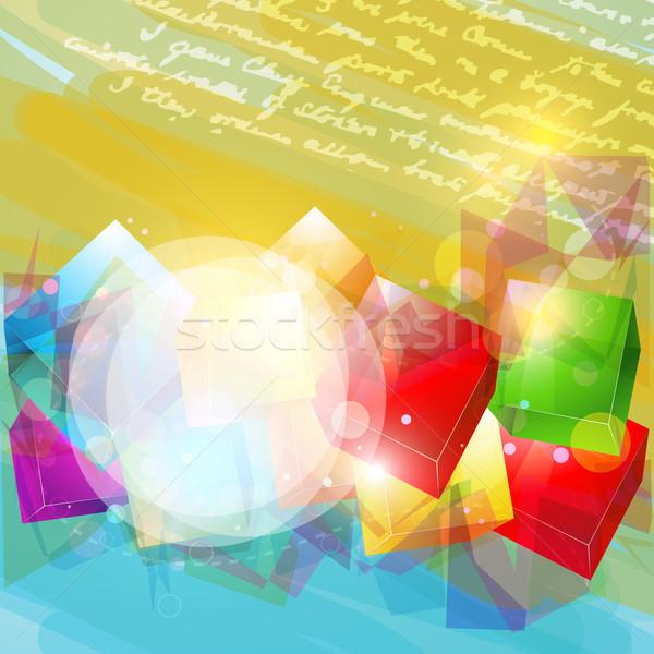abstract artwork Stock photo © Pinnacleanimates