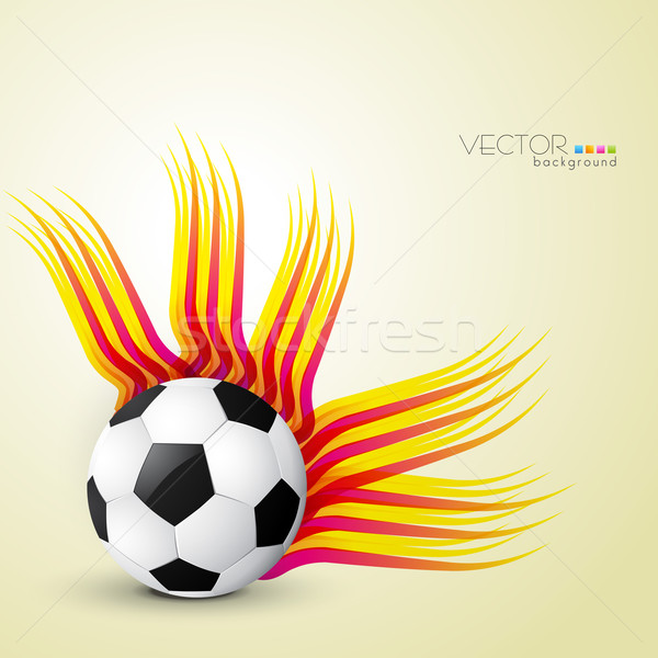 abstract football design Stock photo © Pinnacleanimates