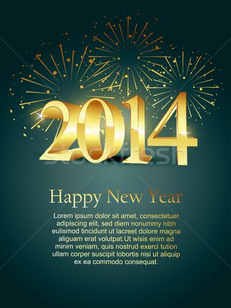 new year design Stock photo © Pinnacleanimates
