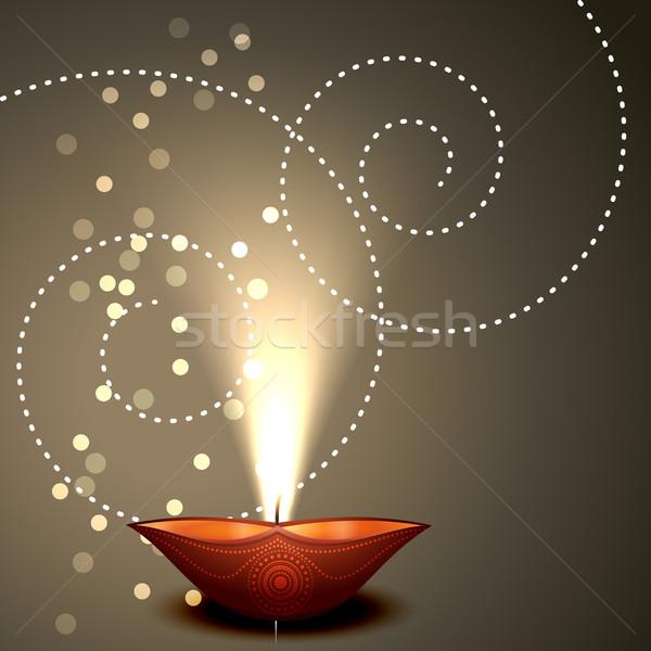 Background of Diwali  Stock photo © Pinnacleanimates