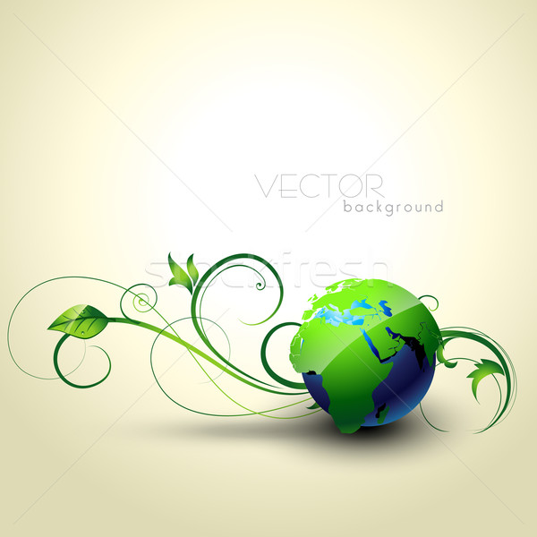 vector earth Stock photo © Pinnacleanimates