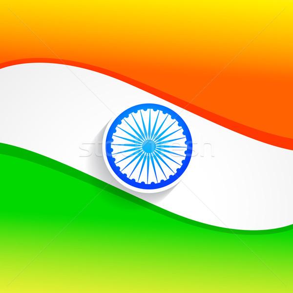 elegant indian flag Stock photo © Pinnacleanimates