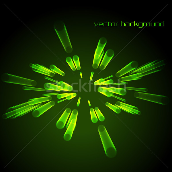 Abstract circles blending with earchother Stock photo © Pinnacleanimates