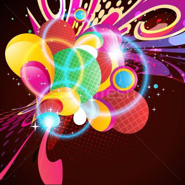 colorful artwork Stock photo © Pinnacleanimates